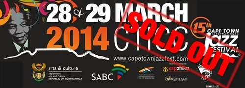 Cape Town International Jazz Festival 2014: All sold out!