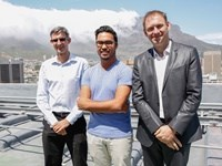 Sean Cowgill, quantity surveyor and director De Leeuw Group, Rashiq Fataar, CEO Future Cape Town and Simon Gill, associate director Arup.
