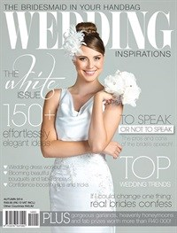 "Wedding Inspirations welcomes autumn with its first ever ""white issue"""