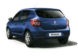 The Renault has the biggest boot.