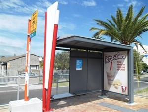 Commuter shelters - Street furniture that is both public amenity and advertising platform