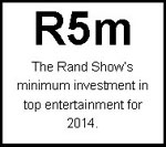 The Rand Show 2014... It's showtime! - The Rand Show