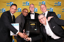 MTN Radio Awards Station of the Year 702.
