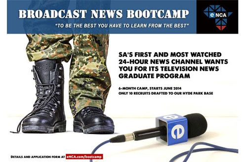 eNCA Broadcast News Bootcamp