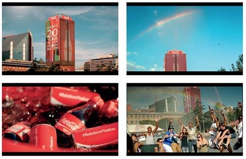Coca-Cola creates rainbows to celebrate - FCB Africa