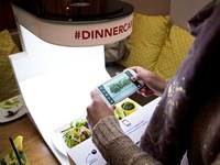 #dinnercam attracts international attention