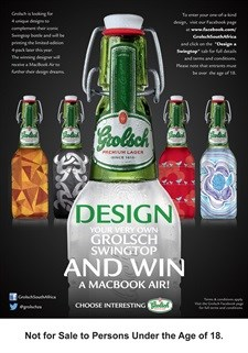 Design Swingtop label for Grolsch competition