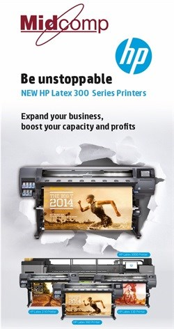 HP and Midcomp presents new range of HP Latex 300 Series Printers - Midcomp