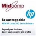 HP and Midcomp presents new range of HP Latex 300 Series Printers