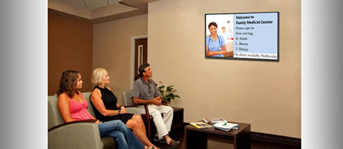 Digital signage - health care information in the modern age