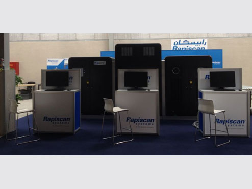 Tungsten builds Rapiscan exhibits in the Middle East