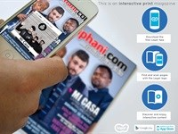 Zkhiphani.com launches print magazine with AR