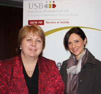 Dr Diane Bell (left) and Dr Carly Steyn