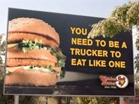 New ad boosts sales of Chicken Licken's Big John burgers