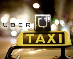 The Uber taxi service is now available in Cape Town. Image: