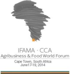 [Agribusiness & Food World Forum] IFAMA's Academic Symposium summary