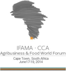 [Agribusiness & Food World Forum] David vs. Goliath: a revolution in Africa's farm structures
