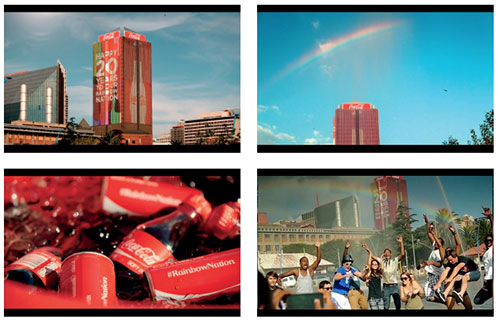 Gold at end of rainbow for Coca-Cola RainbowNation