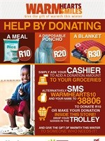 Shoprite, Community Chest winter campaign