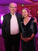 Max Du Preez and Claire Robertson