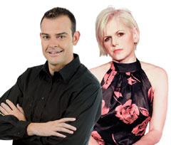 Andre Kunz and Margit Meyer-Rodenbeck will host the breakfdast special on OFM from 16 to 18 July 2014 - OFM Radio