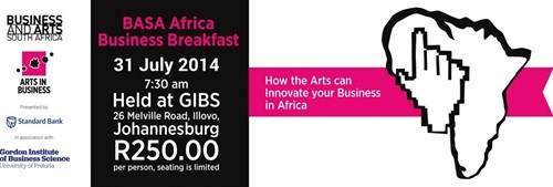 BASA Business Breakfast to offer crucial insight into role of arts in business in Africa