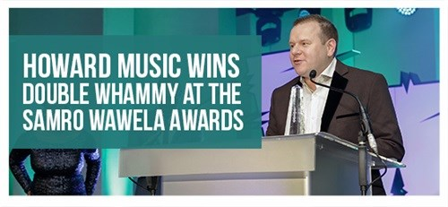 Howard Music wins double whammy at the SAMRO Wawela Awards