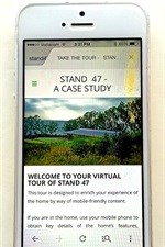 App offers virtual tour of Stand 47, home of the future