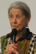 Nadine Gordimer, who only recently came to say we have to fight the secrecy bill, has died. (Image: Volger, via Wikimedia Commons)