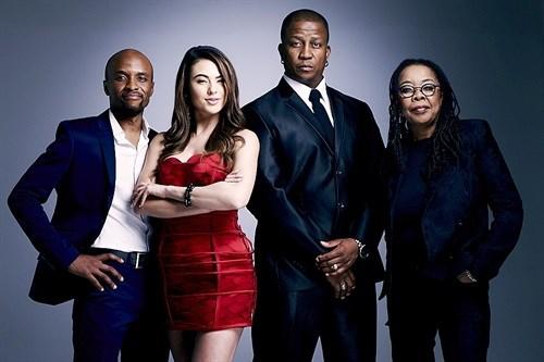 From left: Tats Nkonzo, Lalla Hirayama, DJ Fresh and Shado Twala