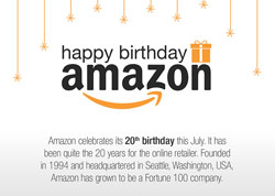 Amazon turns 20