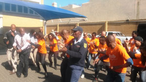 67 Minutes Mandela Day: Giving thanks to the SAPS