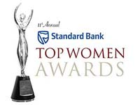 Standard Bank platinum sponsor for annual Top Women Awards
