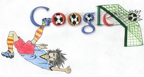 2010 World Cup Doodle 4 Google local winning Doodle by Nikisha Lalloo from PE