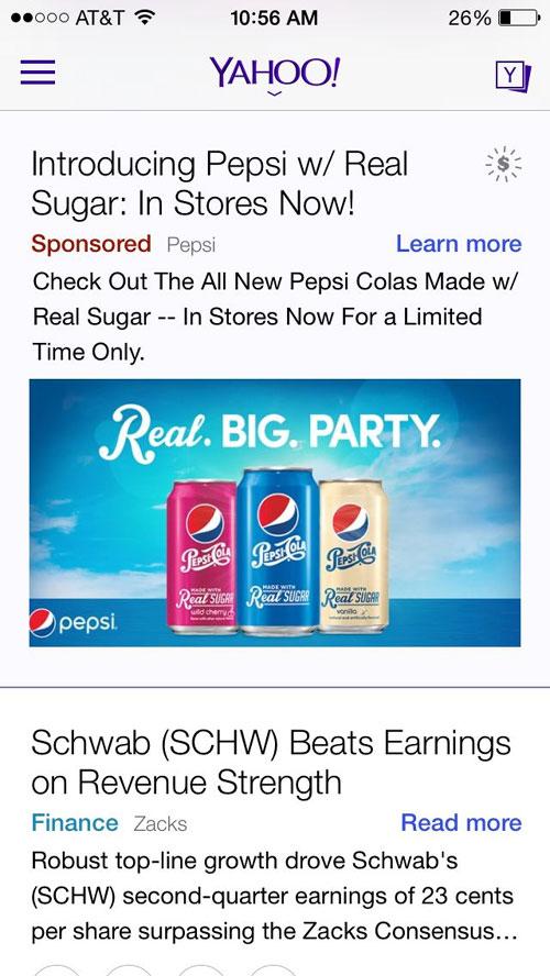 Yahoo Gemini native ads unleash a flood of great results