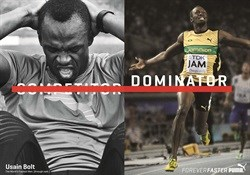 Forever Faster campaign from Puma