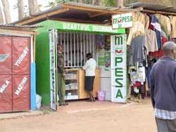 An Mpesa agency in Nairobi. Image: