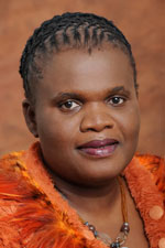 Faith Muthambi evaded answering opposition MPs' questions on Motsoeneng's appointment. (Image: GCIS)