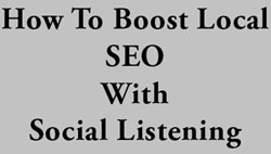 Local SEO: How to boost your social listening