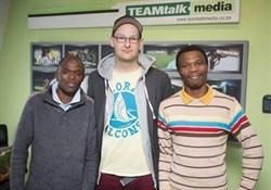 Mfundo Feke, Jonhenry Wilson and Siyasanga Cekiso