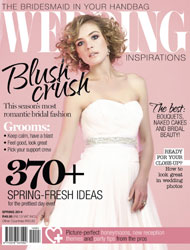 Fall in love with Wedding Inspirations' superb spring edition