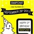 Happy third birthday Snapchat (Infographic)