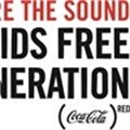 """Share the sound of an AIDS-free generation"" and support (RED)"