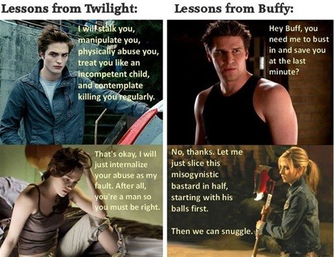 The Twilight/Buffy comparison