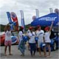 Summer fun during beach roadshow with Algoa FM and Engen