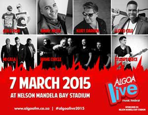 Big names for first Algoa FM music concert