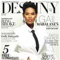 Actress and direct-selling beauty industry entrepreneur Gail Mabalane graces the cover of Destiny! - Ndalo Media