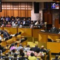 The images we were allowed to see... Zuma speaking before an orderly house. (Image: GCIS)