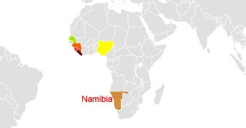 Ebola, closer to Europe than it is to Namibia, for example. (Image: Public Domain)