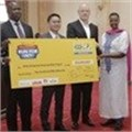 MTN Uganda and Marathon donate UShs.450m to Karamoja Water Project